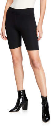 ATM Anthony Thomas Melillo Micro Modal Ribbed Bike Shorts