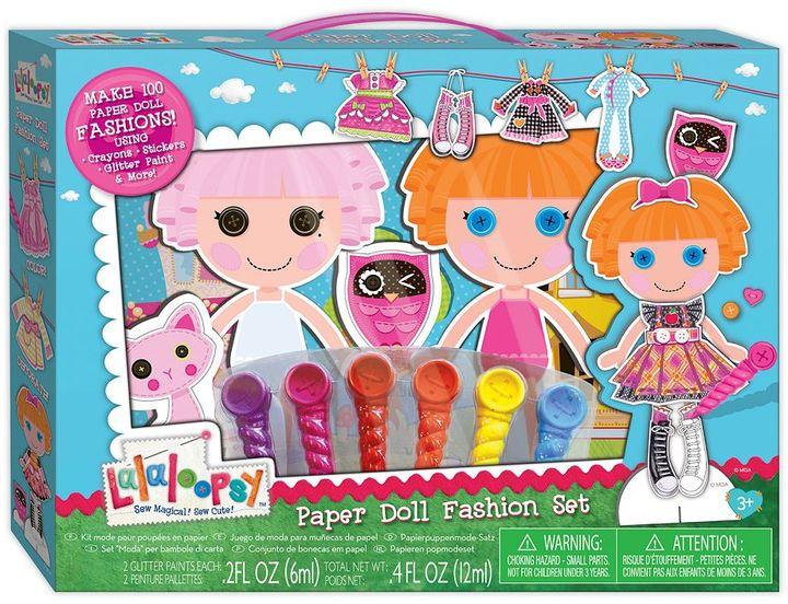 Fashion Angels Lalaloopsy paper doll fashion set