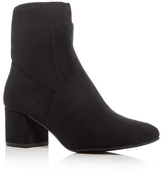 Kenneth Cole Nikki Mid Heel Booties $170 thestylecure.com