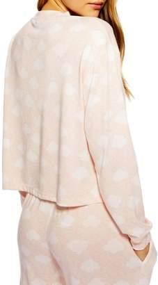 Topshop Supersoft Cloud Pajama Top