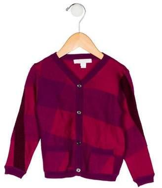Burberry Girls' Silk-Blend Cardigan