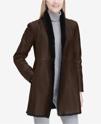 Calvin Klein Reversible Shearling Coat