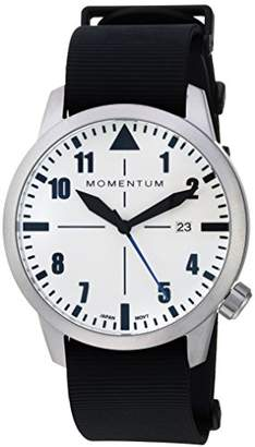 Momentum Men's Sports Watch | Fieldwalker Automatic Leather Adventure Watch by | Stainless Steel Watches for Men | Analog Watch with Automatic Japanese Movement | Water Resistant (200M/660FT) Classic Watch - Lume / 1M-SN92LS11B