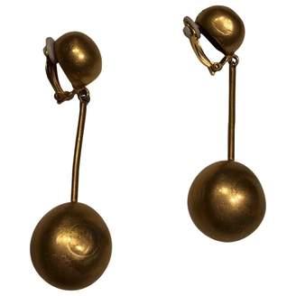 Hermes Vintage Gold Other Earrings