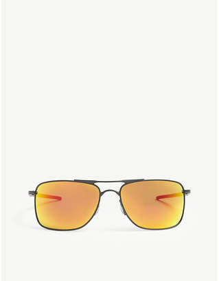 Oakley OO4124 Gauge 8 rectangle-frame sunglasses
