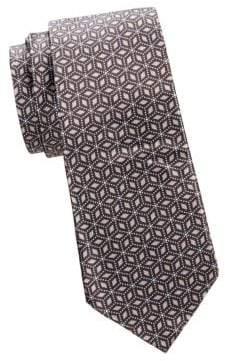 Giorgio Armani Printed Silk Tie