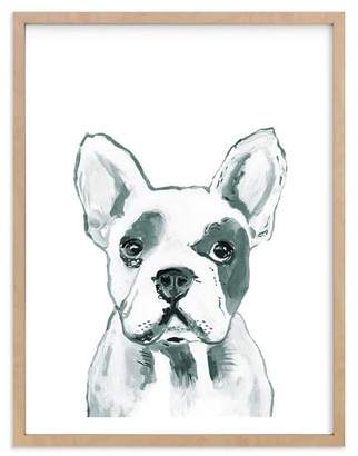 Pottery Barn Teen Hey Mr. Dog, Wall Art by Minted®, 30 x 40, Natural
