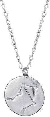 Chupi - Libra We Are All Made Of Stars Star Sign Necklace in Silver