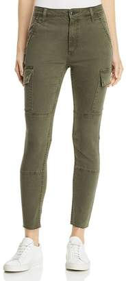Joe's Jeans Charlie Cargo Ankle Skinny Jeans in Forest Floor