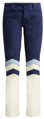 Perfect Moment - Aurora Flare Ii Ski Trousers - Womens - Navy White
