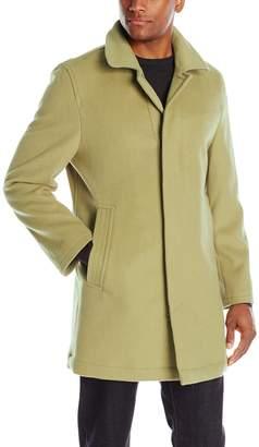 Hart Schaffner Marx Men's Douglas Cashmere Blend Top Coat