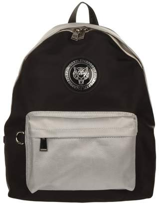Philipp Plein Logo Nylon Backpack