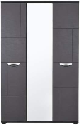 Consort Furniture Limited Eva 3 Door Mirrored Wardrobe