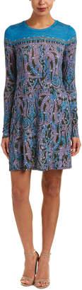 BCBGMAXAZRIA Printed Shift Dress