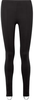 Helmut Lang Stretch-ponte Stirrup Leggings - Black