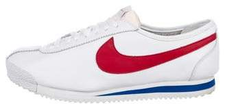 Nike Leather Round-Toe Sneakers