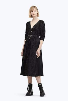 Marc Jacobs Jewel Button Panel Dress