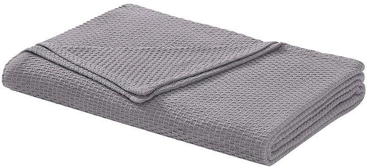 Dark Gray Cotton Blanket