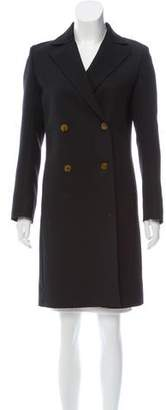 Helmut Lang Wool Double-Breasted Coat