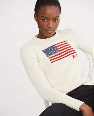 Ralph Lauren Flag Cotton Sweater