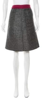 Miu Miu Knee-Length A-Line Skirt