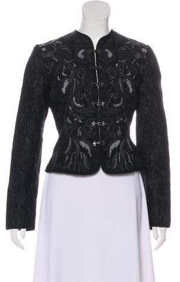 Tahari Embroidered Casual Jacket