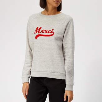 Whistles Women's Merci Embroidered Sweatshirt