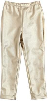 MonnaLisa Metallic Faux Leather Leggings