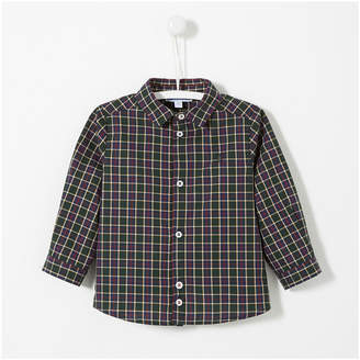 Jacadi Checked Long Sleeve Shirt
