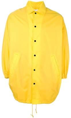 Comme des Garcons poncho jacket