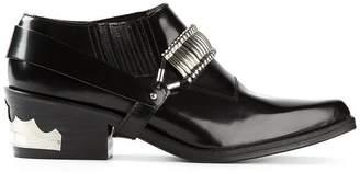 Toga Cuban heel boots