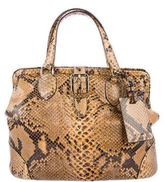 Ralph Lauren Snakeskin Handle Bag