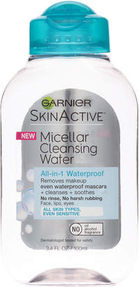 Garnier SkinActive Micellar Cleansing Water All-in-1 Cleanser & Waterproof Makeup Remover $3.99 thestylecure.com