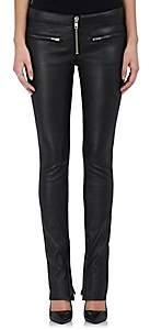 ADAPTATION Women's Leather Skinny Pants - Black