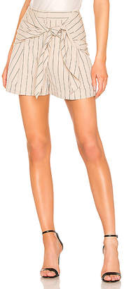 Tibi Tropical Wool Sculpted Short