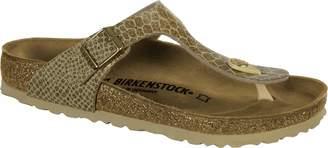 Birkenstock Women's Gizeh Cork Footbed Thong Sandal Mocha