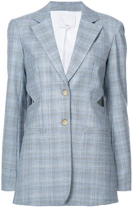Tibi Cooper checked blazer
