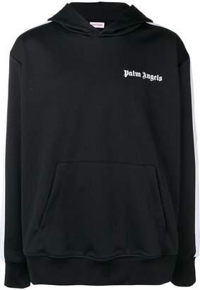 Palm Angels logo print hoodie