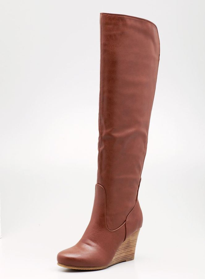 Chinese Laundry Vision Over The Knee Wedge Boot