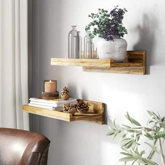 Union Rustic Oconner Wall Shelf