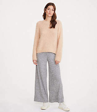 Lou & Grey Softrib Wide Leg Pants