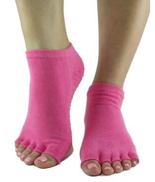 Cotton Candy Toezies Toe-less Grip Socks (M/L)