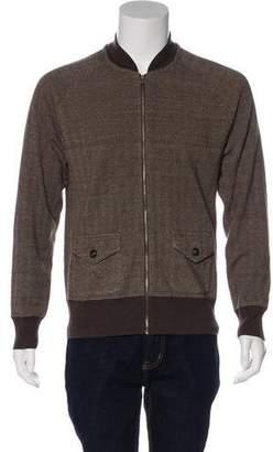 Co RRL & Wool & Linen Zip Sweater