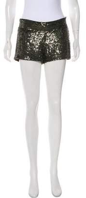 Haute Hippie Sequined Short Shorts