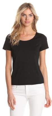 Notations Women's Basic Round Neck T-Shirt