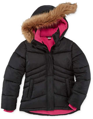Arizona Heavyweight Puffer Jacket - Girls-4-16 & Plus
