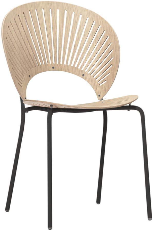 Fredericia Furniture A/S Fredericia - Trinidad Stuhl, Eiche / schwarz