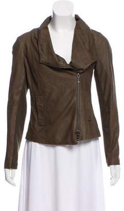 Vince Lightweight Leather Jacket