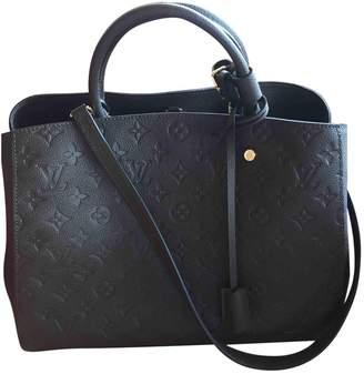 Louis Vuitton Montaigne leather bowling bag