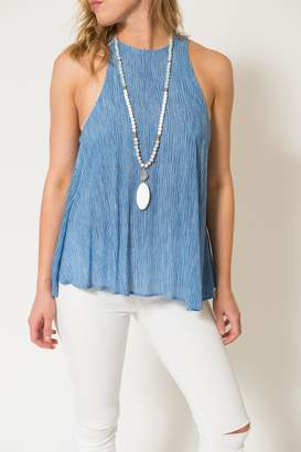 Lucy-Love Lucy Love Chambray Charlie Tank
